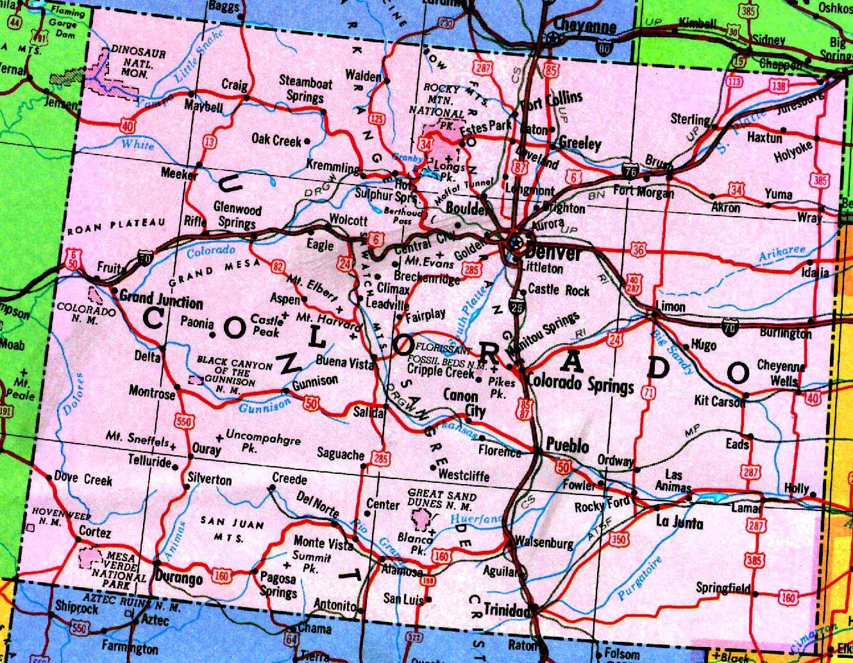 colorado map 10 Colorado Map