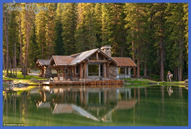 The idyllic Headwaters Camp Guest Cabin looks as though it belongs in ...