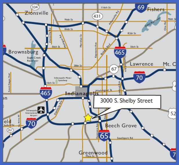 indiana metro map  3 Indiana Metro Map