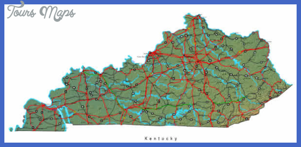 kentucky map 5 Kentucky Map