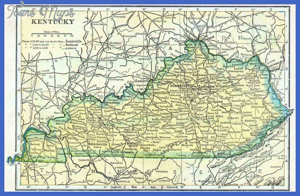 kentucky map 7 Kentucky Map