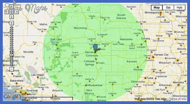 Use a map radius tool to find new destinations - Travel - Travel Tips ...