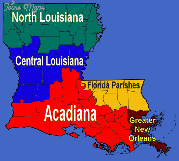 Description Louisiana regions map.png