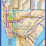 subway map new york map of world