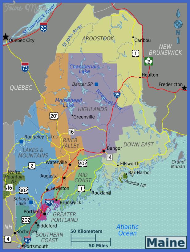 maine subway map 8 Maine Subway Map