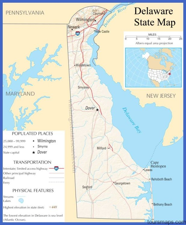 map of delaware counties Archives - ToursMaps.com ® Delaware Counties Map on
