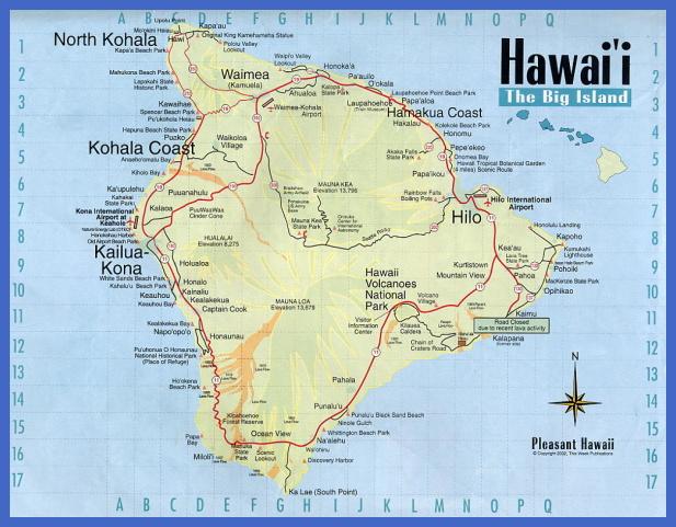 map of hawaii 5 Map of Hawaii