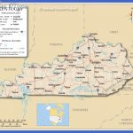 map of kentucky  1 150x150 Map of Kentucky