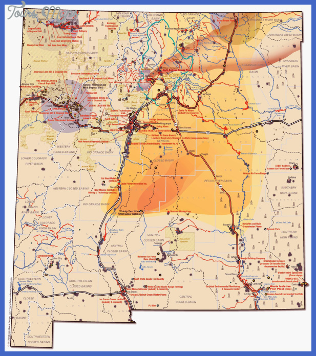 Large Map of New Mexico | Water, Air & Land: A Sacred Trust