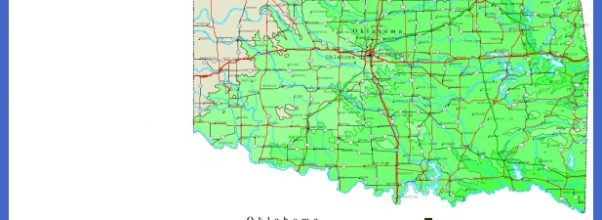 Map of Oklahoma, Oklahoma Maps - Mapsof.net