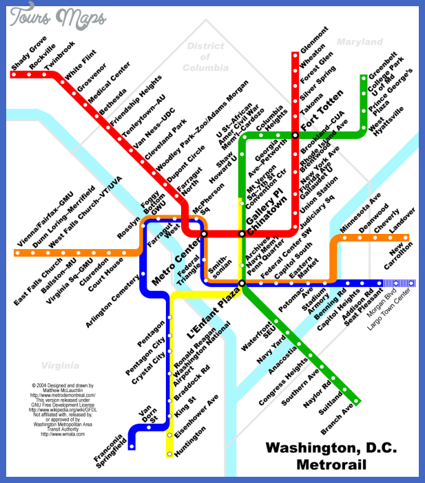 maryland metro map 3 Maryland Metro Map