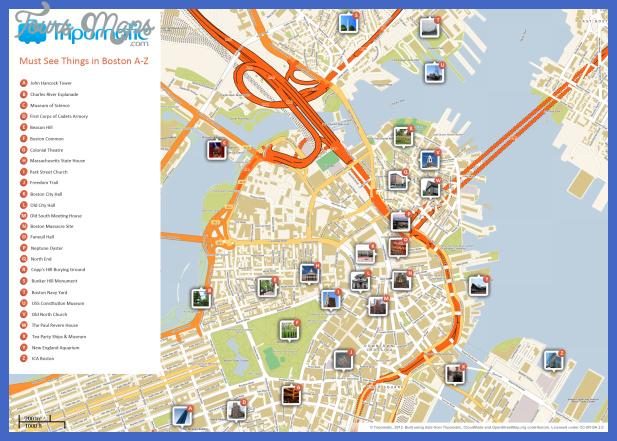 massachusetts map tourist attractions 0 Massachusetts Map Tourist Attractions