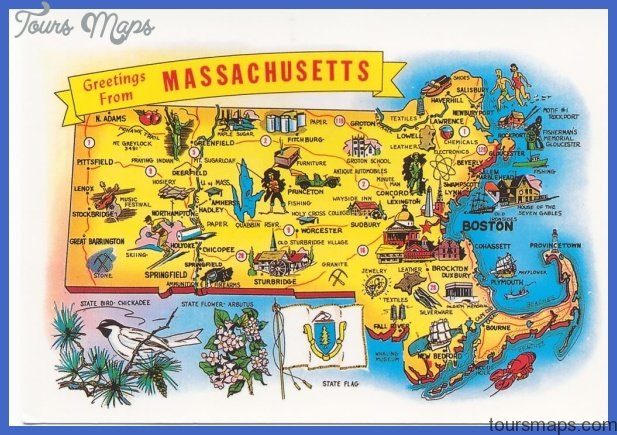 Massachusetts Map Tourist Attractions ToursMapsCom – Tourist Attractions Map In Massachusetts