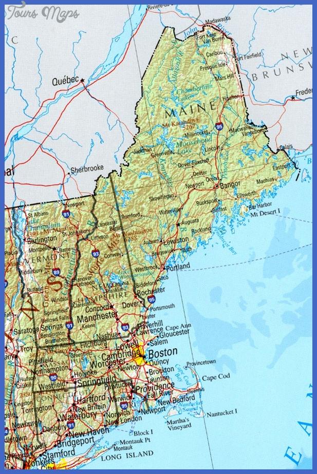 massachusetts map tourist attractions 7 Massachusetts Map Tourist Attractions