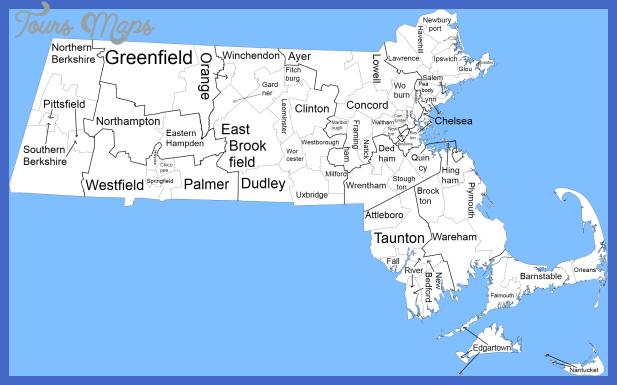 massachusetts map 6 Massachusetts Map