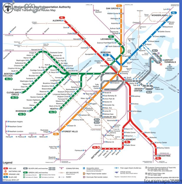 MBTA Silver Line information including maps, schedules, stops, fares ...