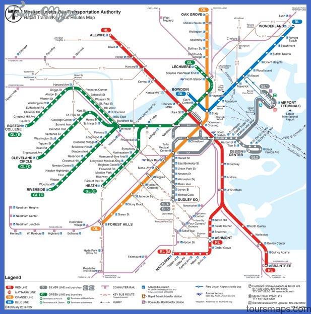 massachusetts metro map 6 Massachusetts Metro Map