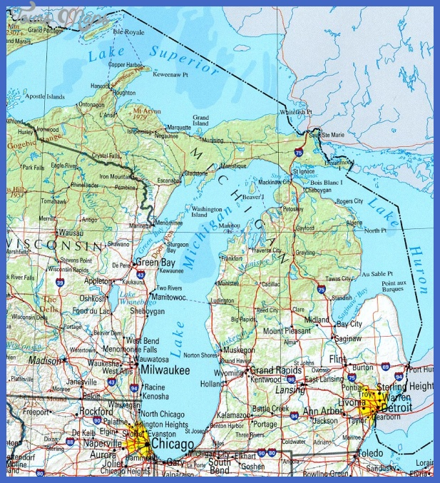 ... to the area and Michigan joined the Union as a state a decade later