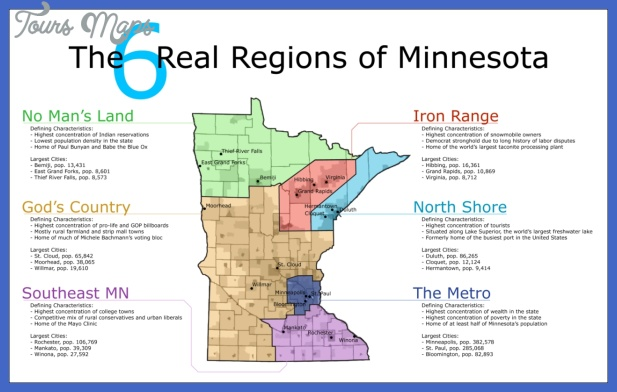 The 6 Real Regions of Minnesota