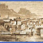 Vicksburg, Mississippi, 1861, artist's impression | House Divided