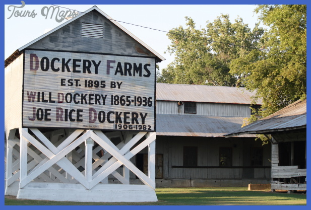 Located near Cleveland, Mississippi, Dockery Farms is regarded as the ...