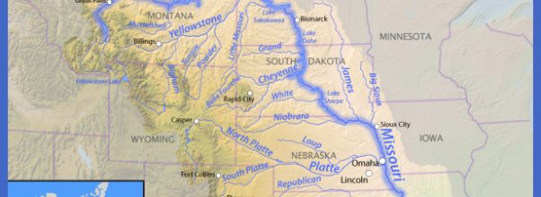 Missouri River Map