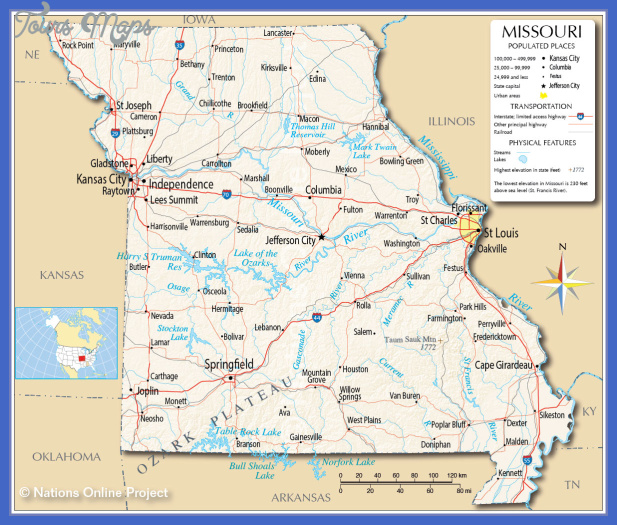 MAP OF MISSOURI | New Hd Template İmages