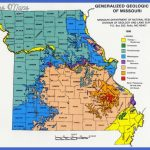 Geologic Map of Missouri, 1990, Missouri Department of Natural ...