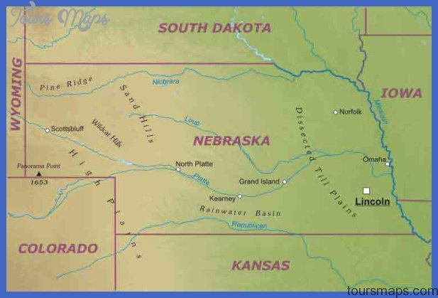 ... Maps of Nebraska, Maps of Nebraska USA, Maps Nebraska Travel Guide USA