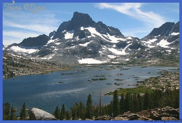 The Sierra Nevada's immense size in length and height, geological age ...