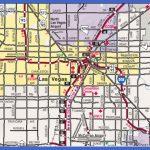 Metro Map of Las Vegas City Printable