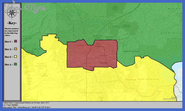 File:United States Congressional Districts in Nevada (metro highlight ...