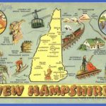Tourist Map of New Hampshire Other New Hampshire Cities