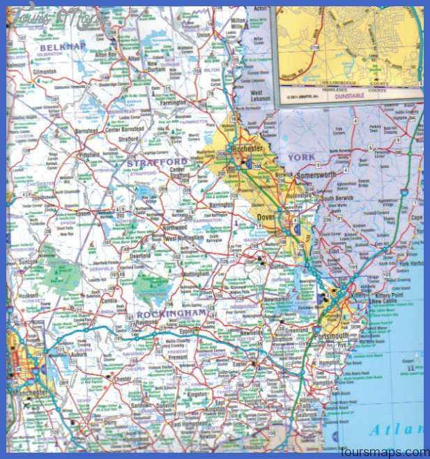 New Hampshire Quickmap 4th Edition « Jimapco