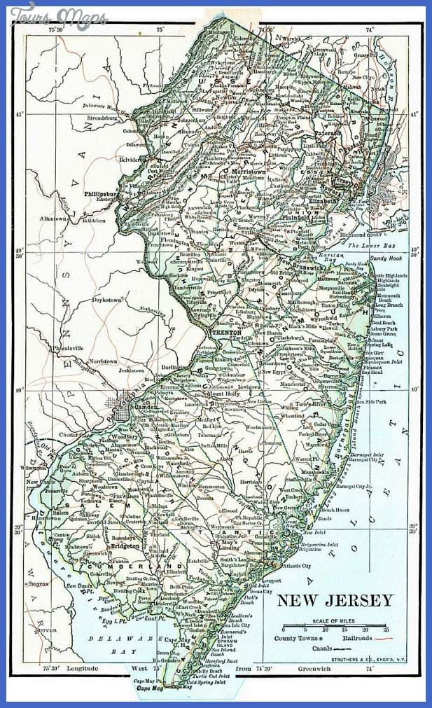 New Jersey Maps. New Jersey Digital Map Library. Table of Contents ...