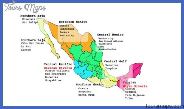 New Mexico Map Tourist Attractions ToursMapsCom – Tourist Attractions Map In Mexico