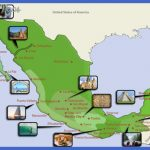 Map showing safe resort areas in Mexico - Source: Journey Mexico