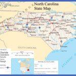 1001 World Map: North Carolina Map