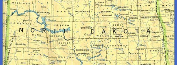 From Univ. of Texas Library North Dakota maps.