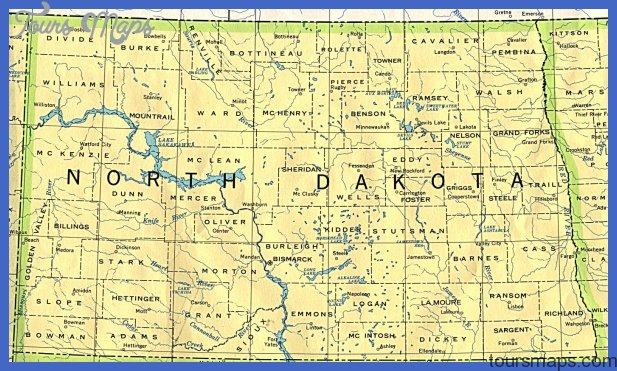 From Univ. of Texas Library North Dakota maps.