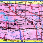 North Dakota Tourist Map - North Dakota • mappery