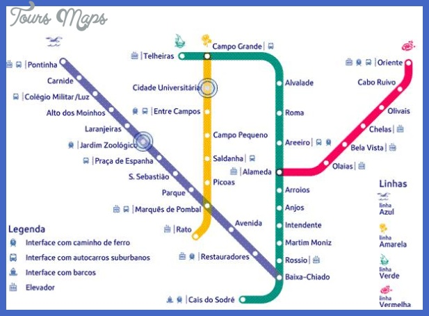 LISBON METRO MAP | World Map Of Images