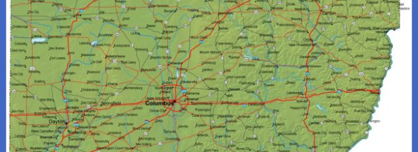 ... Ohio Map - OH Terrain Map 1446 x 1401 - 592 k - jpeg www.ohio-map.org