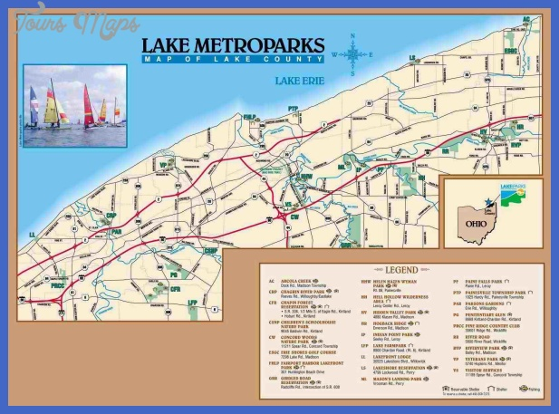... map lake metroparks information location map hidden valley trail map