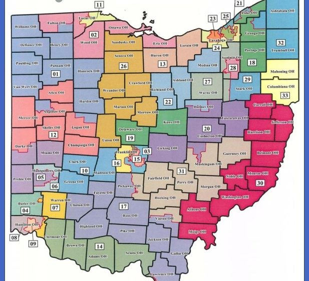Proposed state maps would place Reps. Fedor, Szollosi in same district ...
