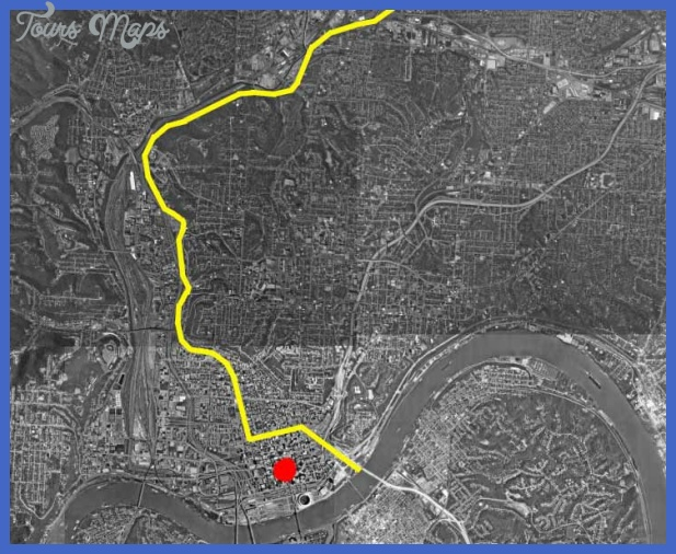 YELLOW SHOWSROUTE OF CANAL