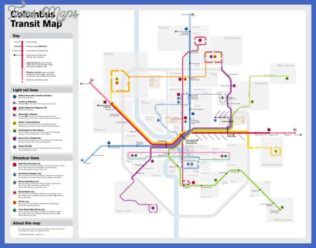 ohio subway map 2 Ohio Subway Map