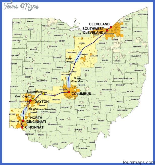 ohio subway map 26 Ohio Subway Map