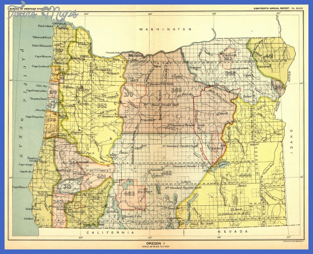 ... in the U. S., Oregon, Map 51. United States Digital Map Library