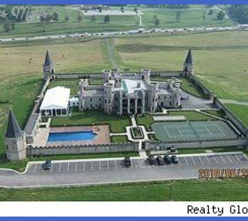 The Castle in Versailles, KY. Built as an expression of love, much of ...